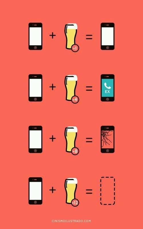 iPhone drunk